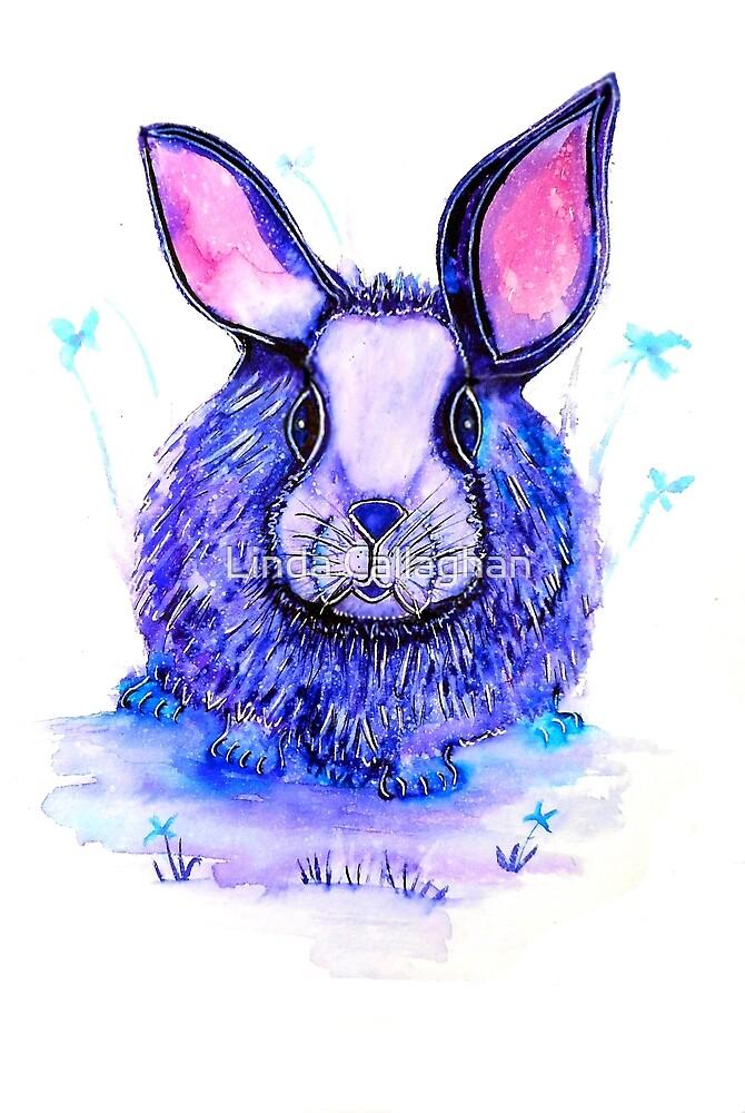 Bunny Cuteness by Linda Callaghan
