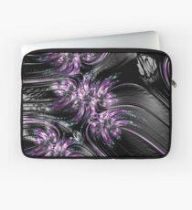 purple on leather Laptop Sleeve
