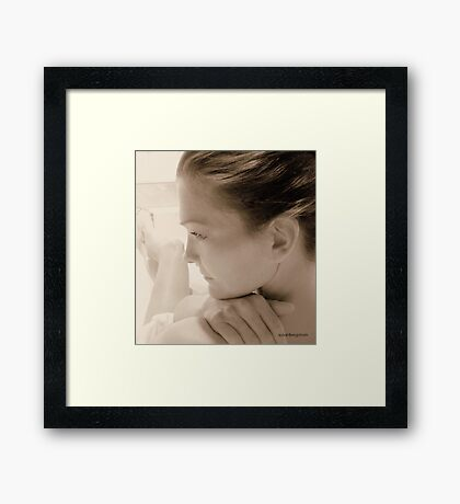 In Self Framed Print