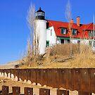Point Betsie Lighthouse by Mark Bolen