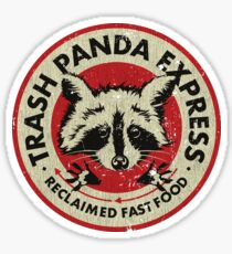 Müll Panda Express Sticker