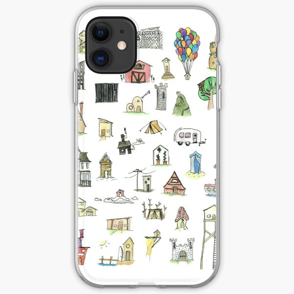 Tiny Houses iPhone Soft Case