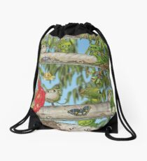 Mythic Australia Gumtree Drawstring Bag