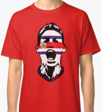 db76e73b4 Costa Rica Team 2018 Fan Flag Face Classic T-Shirt