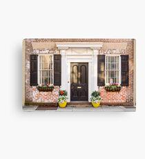 Pretty Home Front Canvas Print