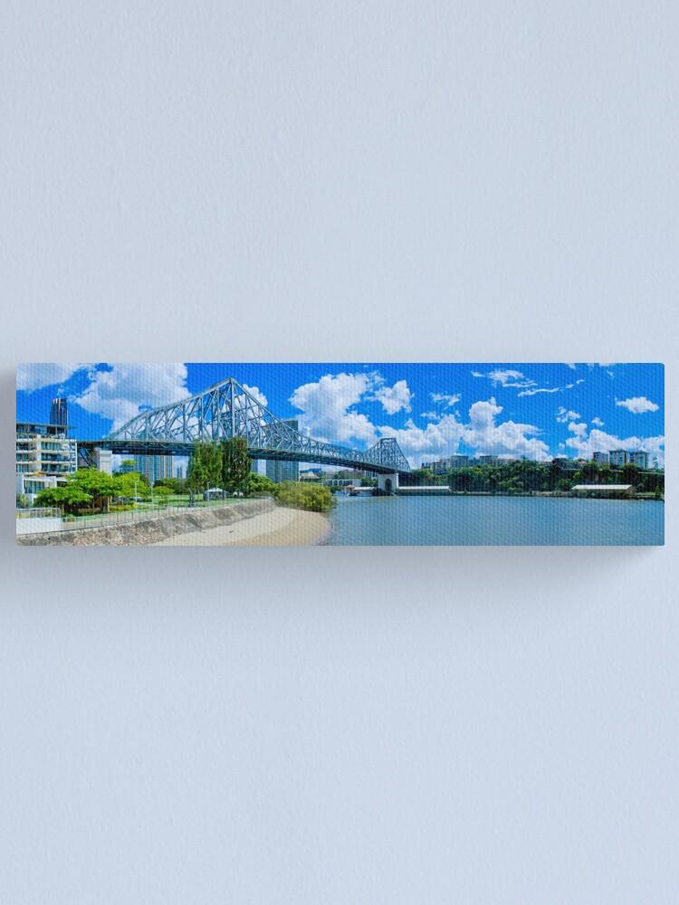 Alternate view of Story Bridge Brisbane Canvas Print