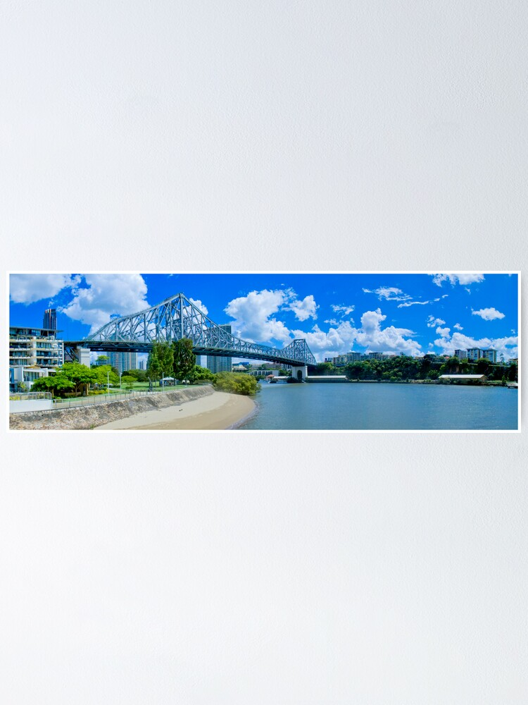 Alternate view of Story Bridge Brisbane Poster