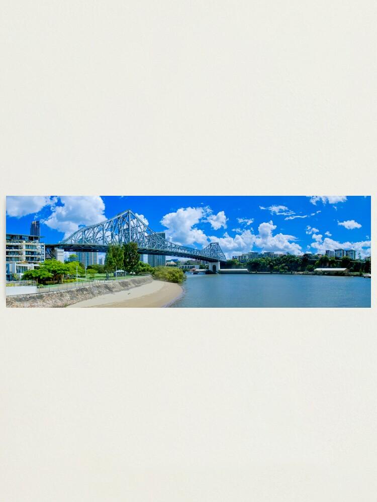 Alternate view of Story Bridge Brisbane Photographic Print