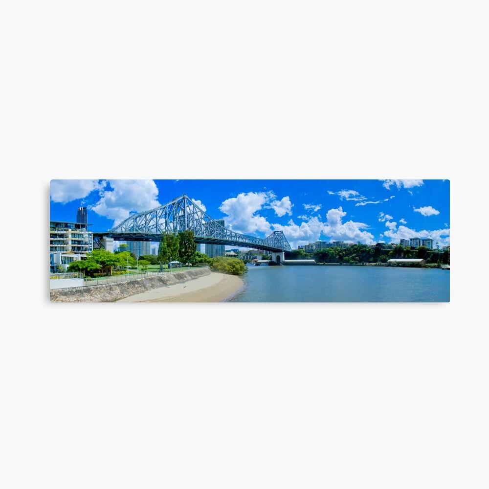 Story Bridge Brisbane Canvas Print