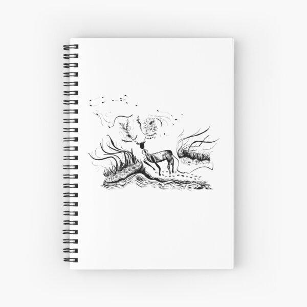Stag Spirit Spiral Notebook