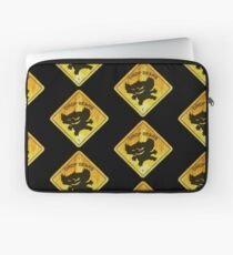 Drop Bear Sign Laptop Sleeve