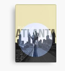 The Walking Dead Atlanta Canvas Print