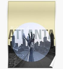 The Walking Dead Atlanta Poster