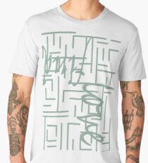 Find Love - Typographical abstract 2 Men's Premium T-Shirt