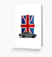 My name is 5, DB5 Greeting Card