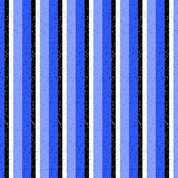 Speckled Blue Vertical Line Pattern by MarkUK97