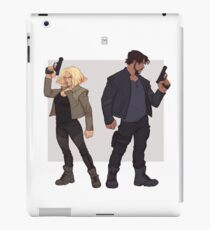 Power couple iPad Case/Skin
