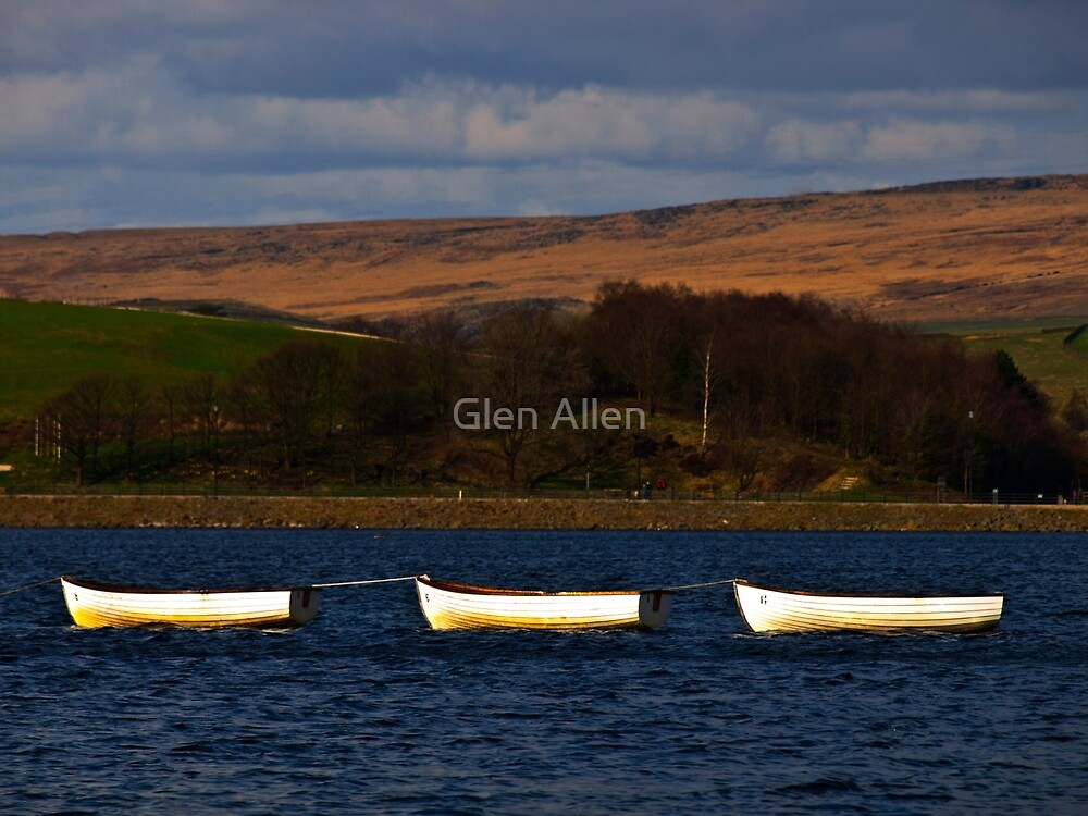 Hollingworth Lake Rochdale by Glen Allen