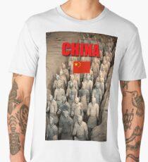 Terracotta Army People's Republic of China - Professional Photo Men's Premium T-Shirt