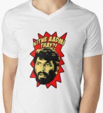 Gabbar Singh - The Greatest Villain V-Neck T-Shirt