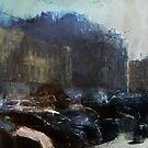 Voroshilovski Prospect by Nikolay Semyonov