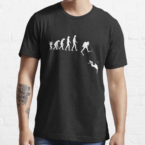 Flag Waves Scuba Diving T-Shirt Funny Novelty Mens tee TShirt