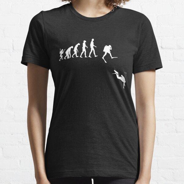 Evolution of Man Scuba Diving  Essential T-Shirt