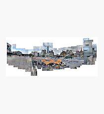 Federation Square - Melbourne - Australia Photographic Print