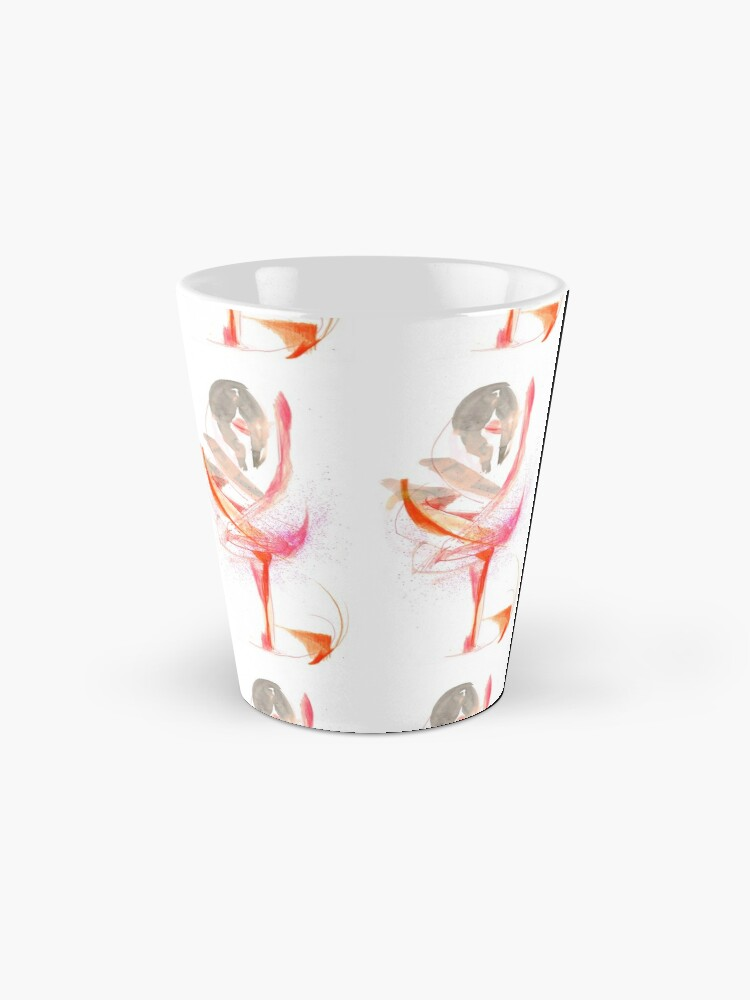 Alternate view of Expressive Dance Drawing Mug