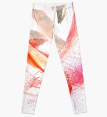 Expressive Dance Drawing Leggings
