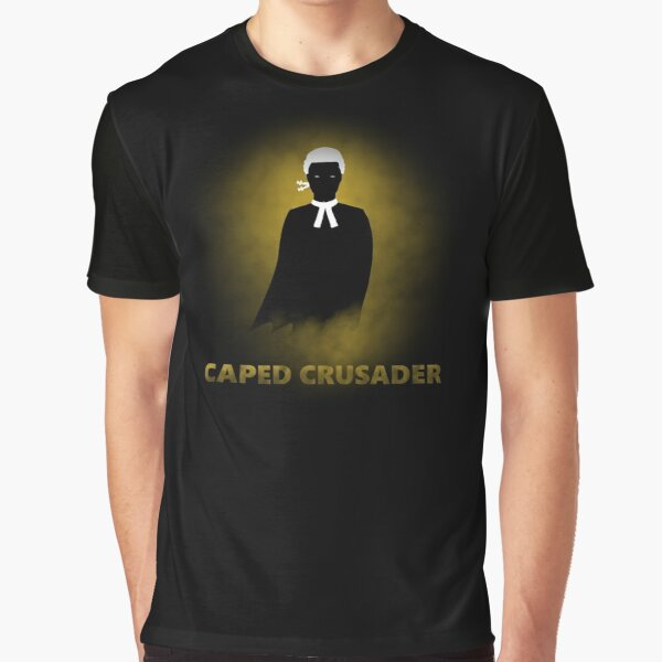 Barrister Caped Crusader Graphic T-Shirt