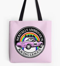 Sexually Ambiguous Racing League Tote Bag