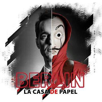 PAPEL BARLINE CASA - PAPEL TV LACASA - The papel casa TV series by Theworrior