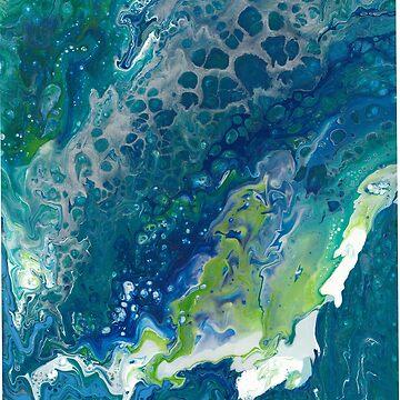 blue green luxury by Bobbleheadnanna