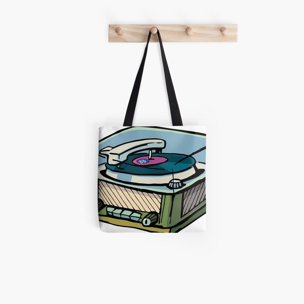 radio gramophone Tote Bag