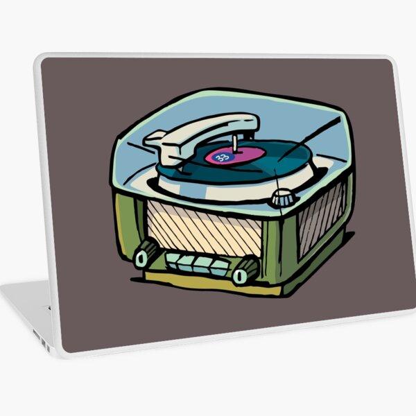 radio gramophone Laptop Skin