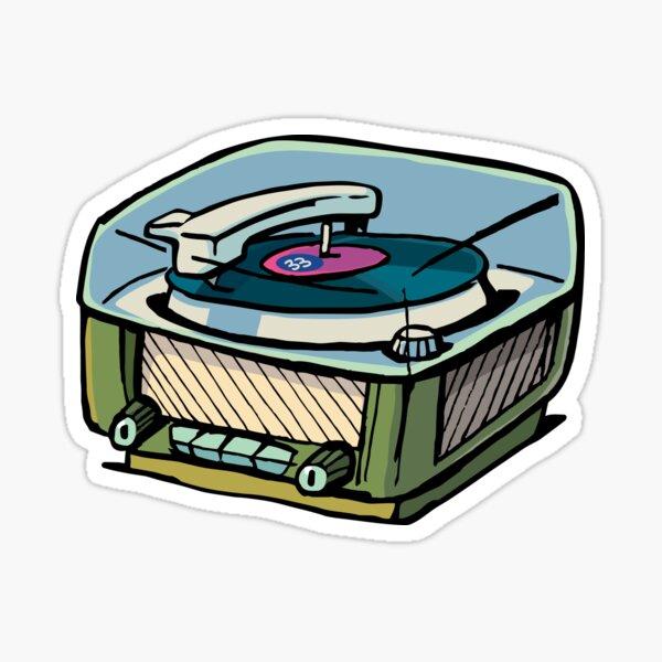 radio gramophone Sticker
