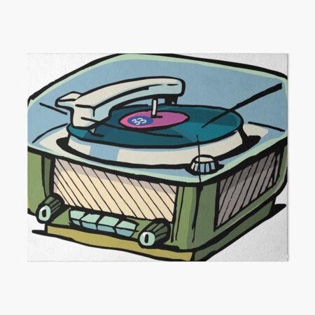 radio gramophone Art Board Print