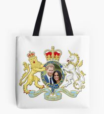 Prince Harry and Meghan Markle Tote Bag