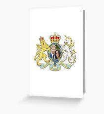 Prinz Harry und Meghan Markle Grußkarte