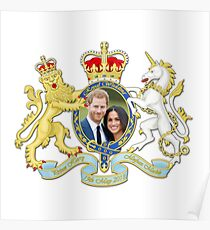 Prince Harry and Meghan Markle Poster