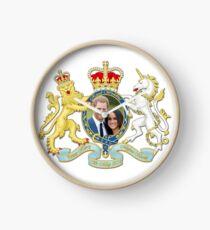 Prince Harry and Meghan Markle Clock