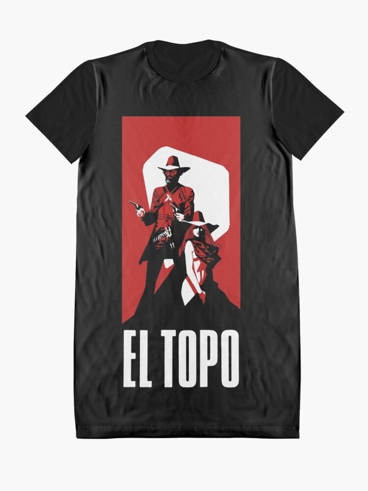 Alternative Ansicht von El Topo T-Shirt Kleid