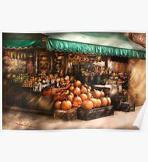 The Fruit Market Poster