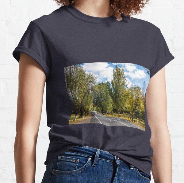 Mount Macedon Road, Mount Macedon, Victoria, Australia. Classic T-Shirt
