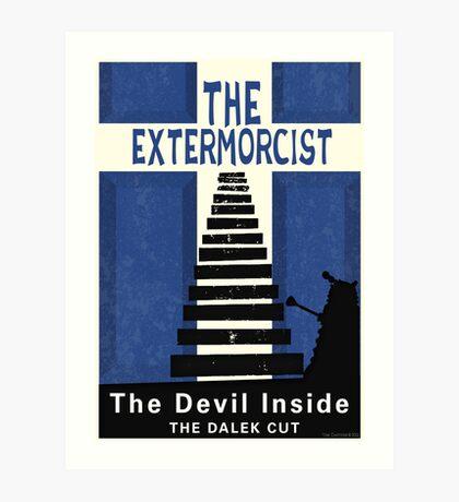 The Devil Inside. The Dalek Cut. Art Print