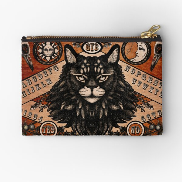 Ouija Board - Maine Coon edition Zipper Pouch