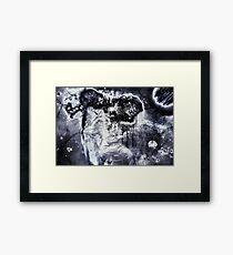"""""""Rorschach"""" Framed Print"""