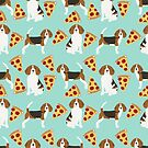 beagle pizza dog breed pet pattern cute pure breeds by PetFriendly