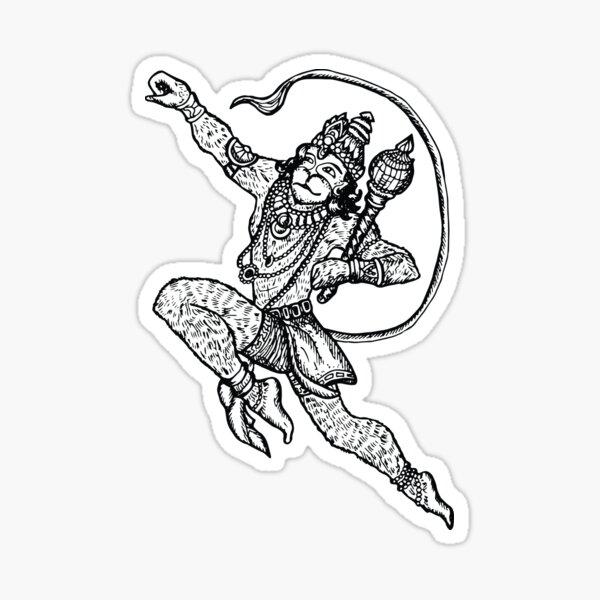 Mahabali Hanuman Hindu God Sticker Photo  IMAGES, GIF, ANIMATED GIF, WALLPAPER, STICKER FOR WHATSAPP & FACEBOOK